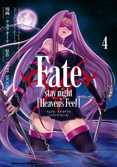 Fate/stay night [Heaven's Feel] (4) 表紙