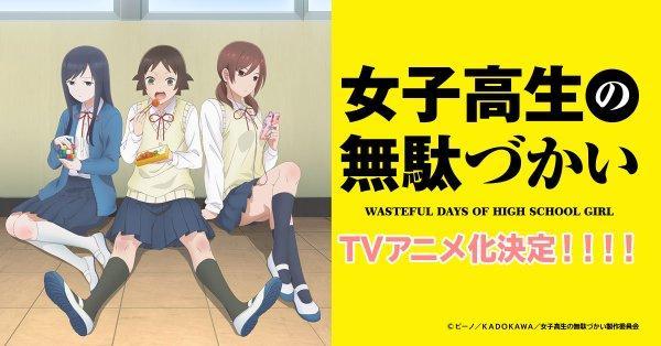 「女子高生の無駄づかい」がTVアニメ化!