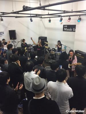 『ガールズフィスト!!!!』から飛び出した女性声優ロックバンドの2度目の公開練習が、11月25日(日)に開催!