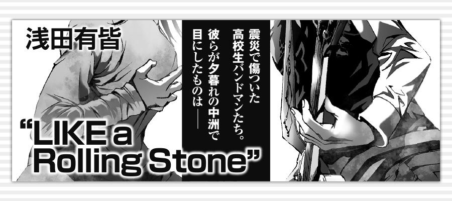"""LIKE a Rolling Stone"""